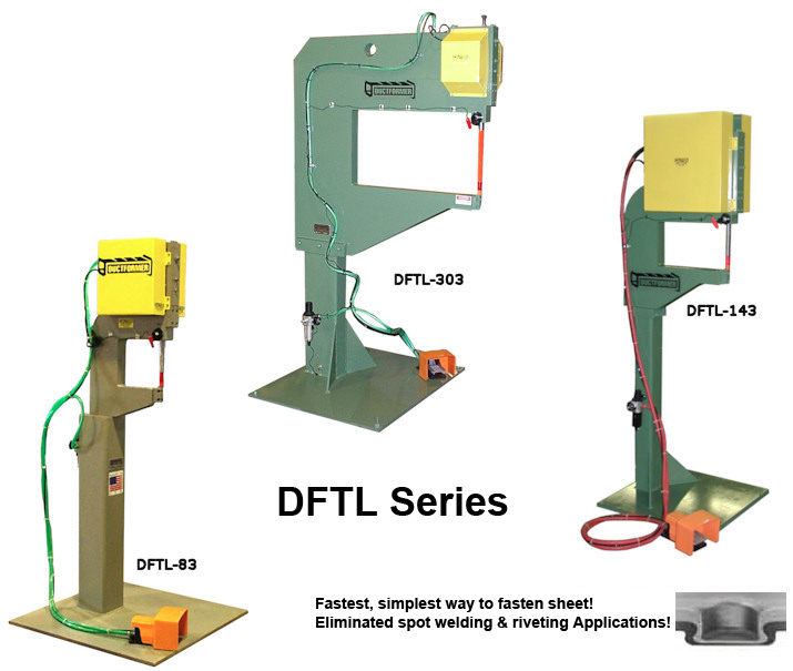 DFTL Clinching Machine Series